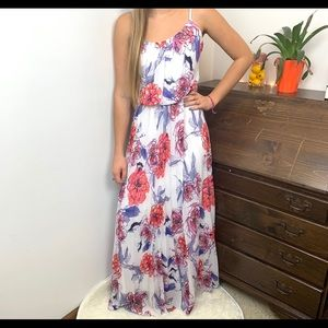 BISOU BISOU Michele Bohbot Maxi Dress Size 12